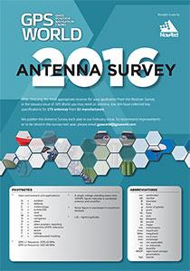 2016 GPS World Antenna Survey