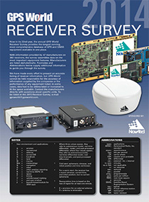 2014 GPS World Receiver Survey (PDF)