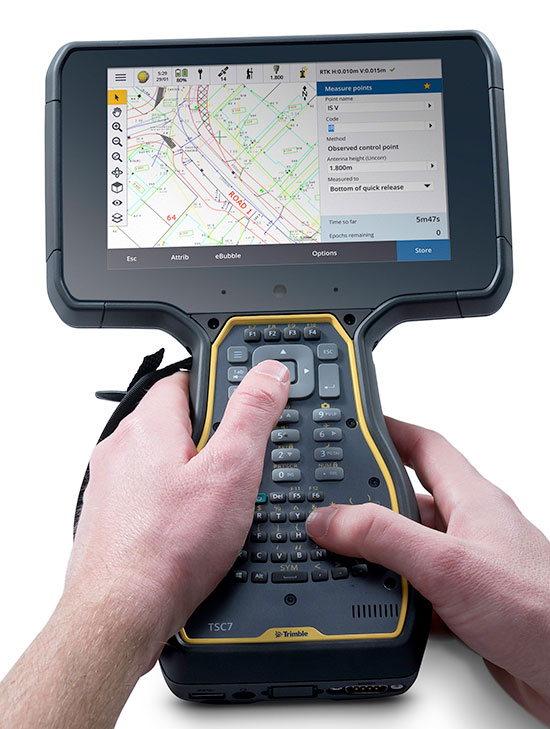 Trimble Launches Tsc7 Controller And Apps For Surveyors