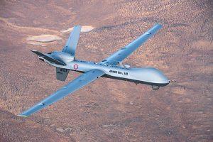 French MQ-9 Reaper. (Photo: DoD press release/UAS Vision)